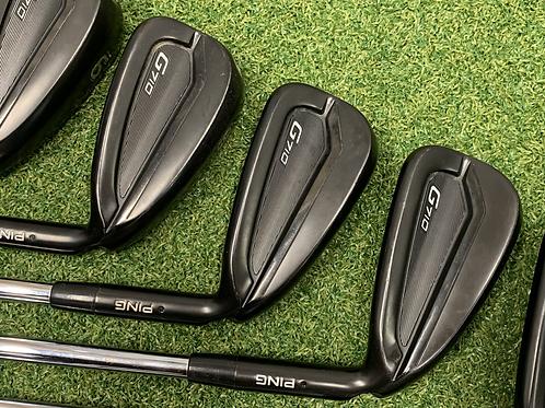 Ping G710 irons 5-9 // Stiff