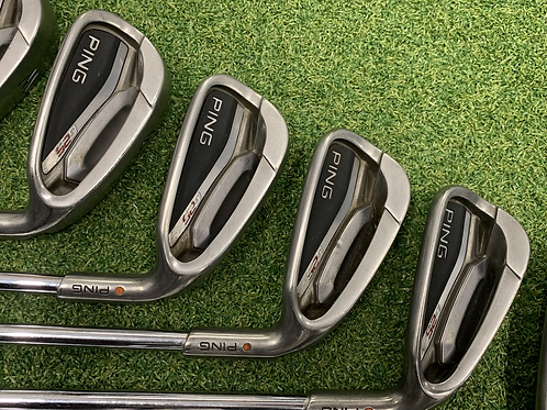 Ping G25 irons 5-W // Reg