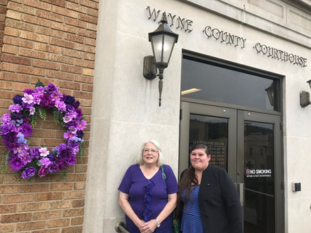 Wayne Co. Commission proclaims October as Domestic Violence Awareness Month