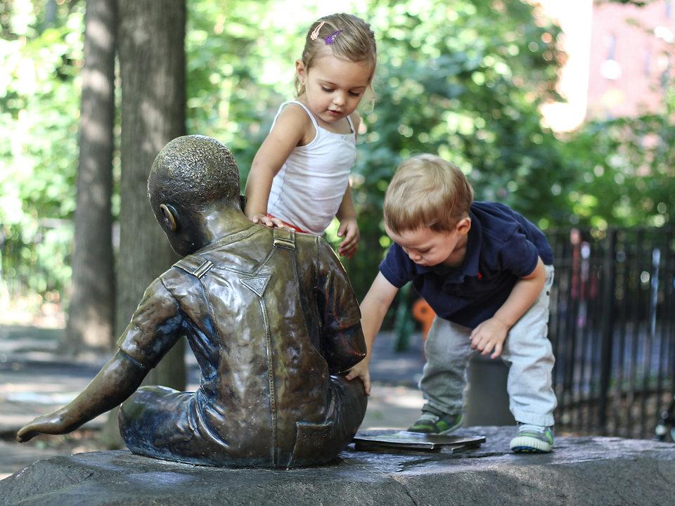 exceeding expectations storytelling new york city artist art prospect park children