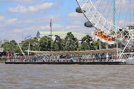 Waterloo Millennium Pier, Westminster Bridge Road, London SE1 7PB