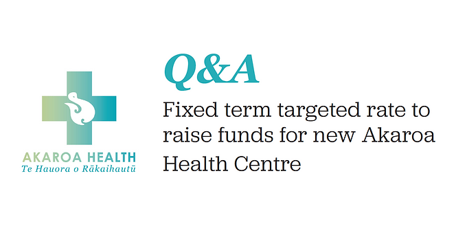 Targeted rate for Akaroa Health Centre Q&A