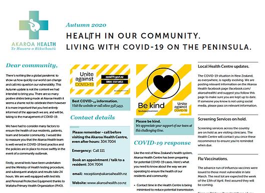 Akaroa Health - Autumn 2020