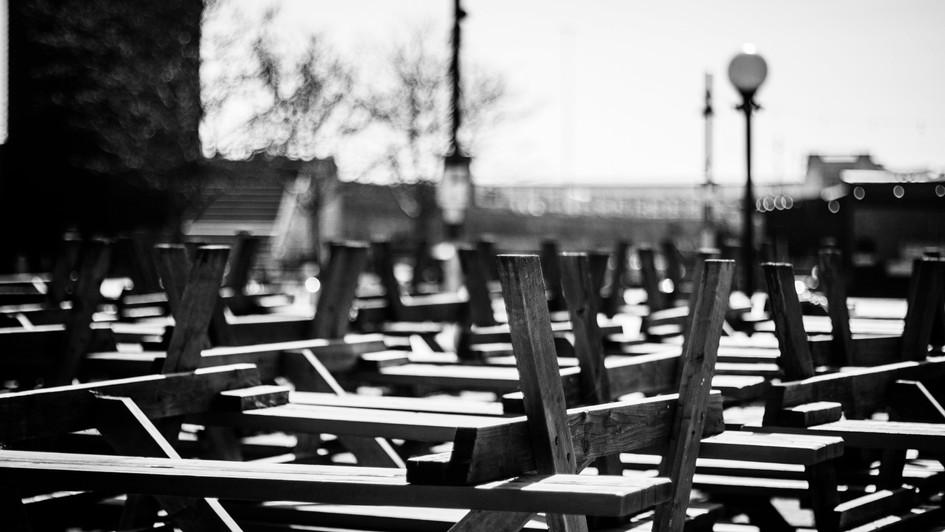 Upturned Tables