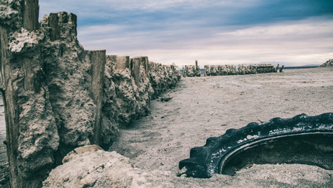 Buried Tire