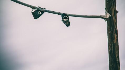 Hanging Converse