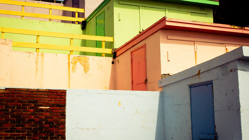 Colourful Sheds