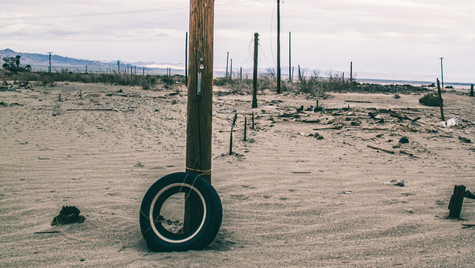 Leaning Tire