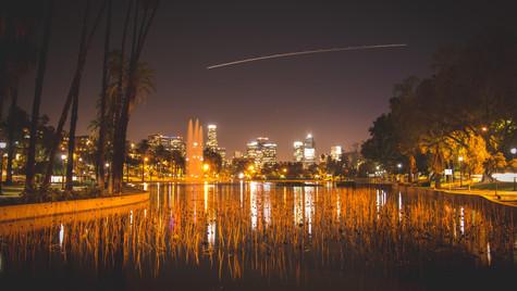 Echo Park at Night 2