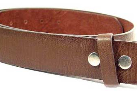 Brown soft leather