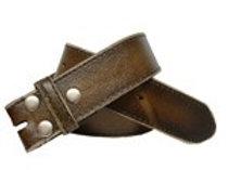 Brown distressed strap