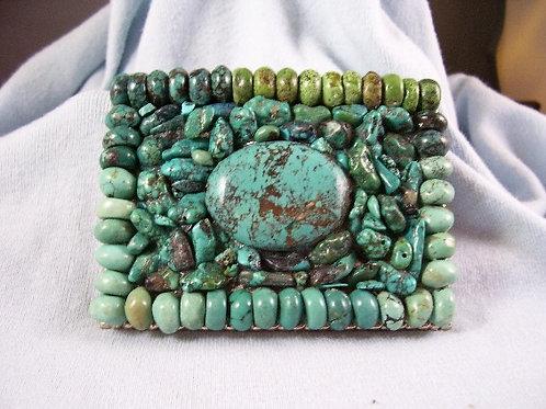 Turquoise buckle
