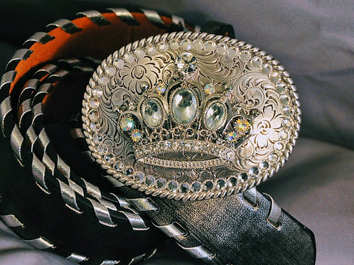 Princess crown buckle