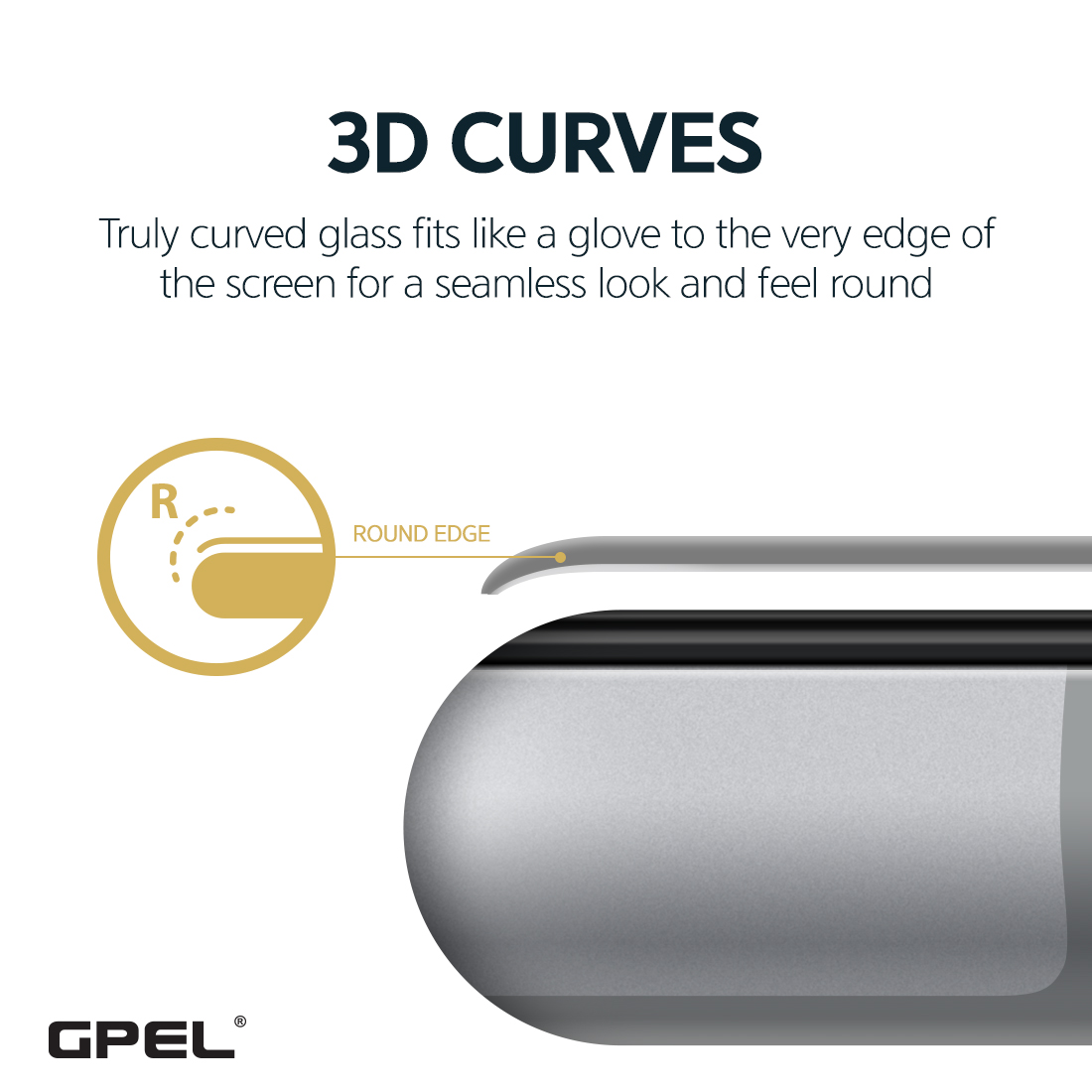 Privacy 3D Curved Tempered Glass