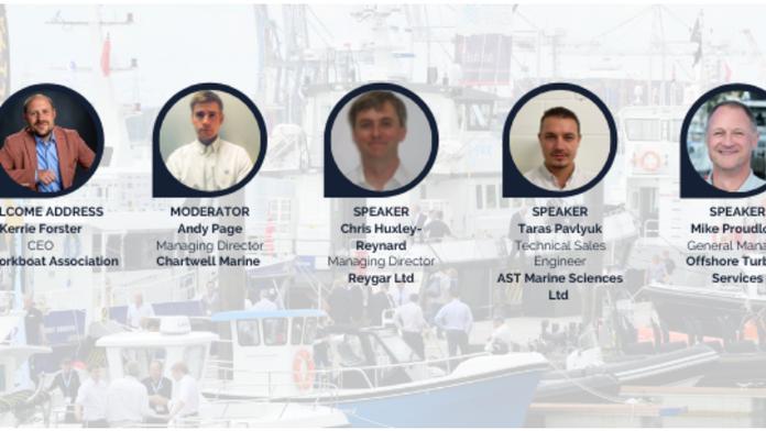 Reygar presenting at Seawork - Get Set for Workboat 2050