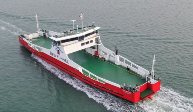 Red Funnel looks out for Red Kestrel with Advanced BareFLEET monitoring