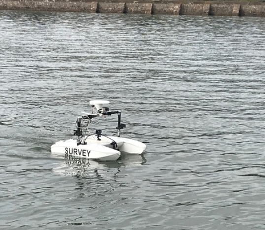 Unmanned survey vessel successful trials