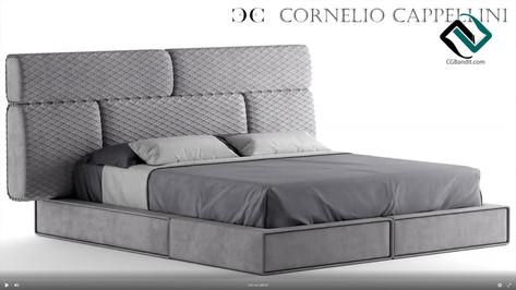 №149. Modeling Bed  Cornelio Cappellini