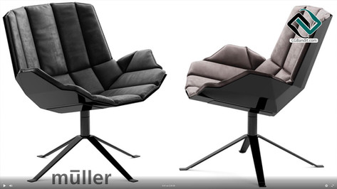 №173. Chair modeling  muller MARTINI CHA