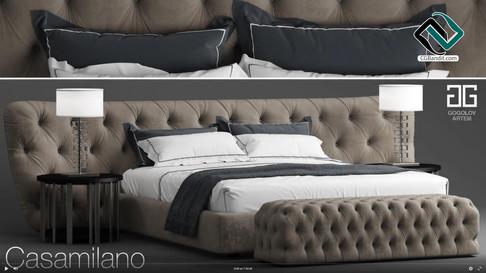 №100. Моделирование кровати Casamilano R