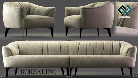 №172. Modeling Bed  Borzalino SIGMUND  A