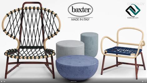 №123. Моделирование кресла  baxter manil