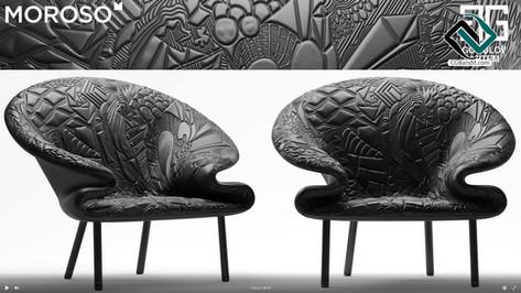 №95.Моделирование дивана и кресла Doodle
