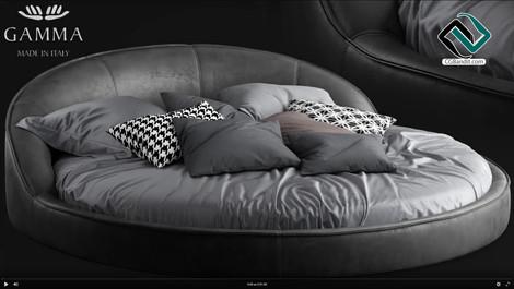 №167. Modeling Bed  Gamma jazz  Autodesk