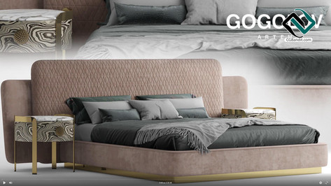 №180. Modeling Bed  OPERA_SHEILA  Autode