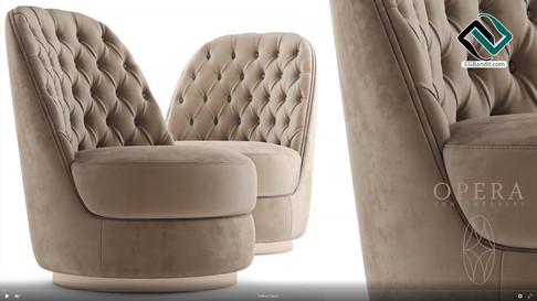 №166. Chair modeling  Opera LEILA  Autod