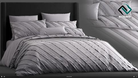 №181. Modeling Bed  Remington  Autodesk