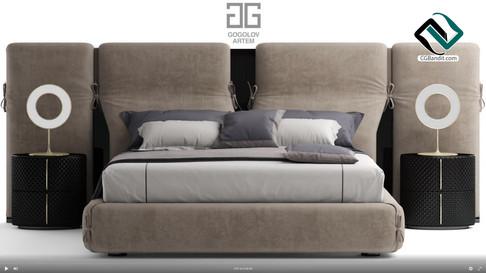 №105. Моделирование кровати Bed of my de
