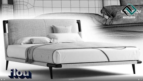 №210. Modeling Bed  Flexform groundpiece