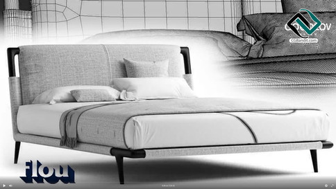 №210. Modeling Bed  Flexform groundpiece