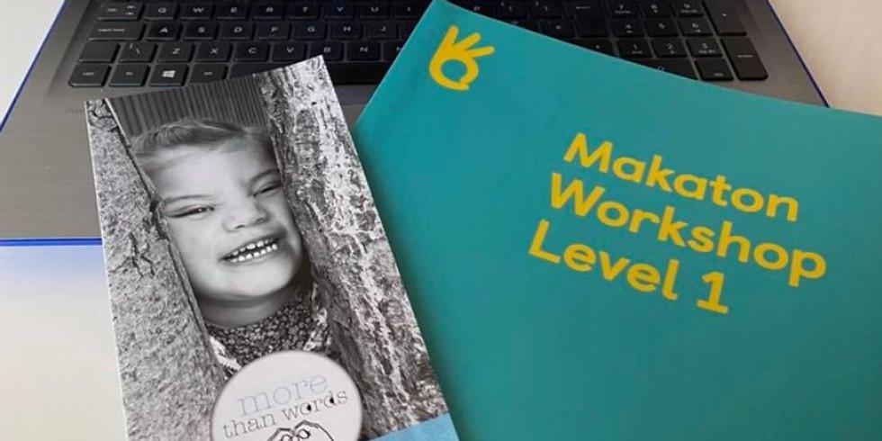 Online Makaton Workshop - Level 1 - June 2021
