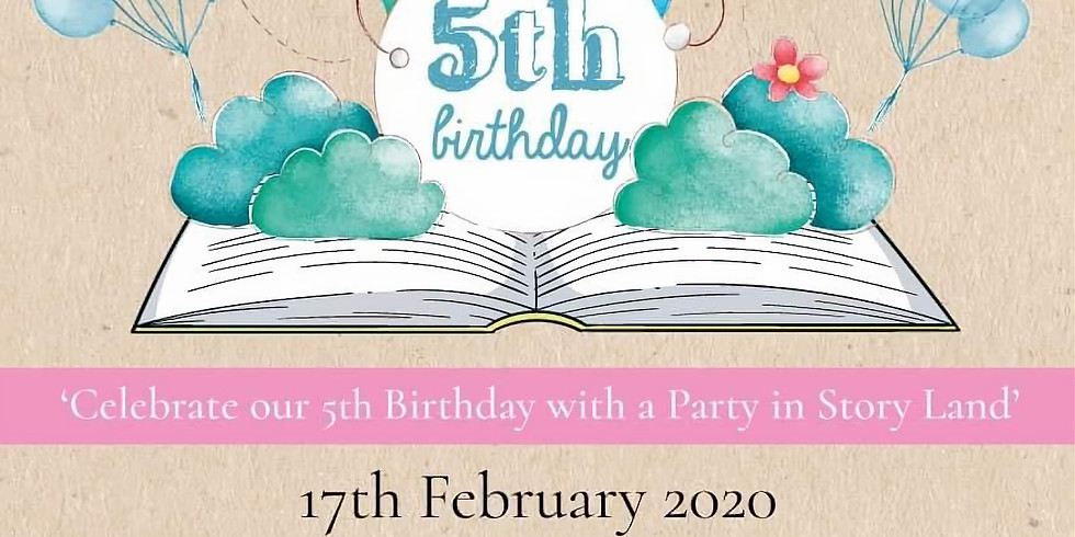 Celebrate our 5th Birthday with a party in Story Land