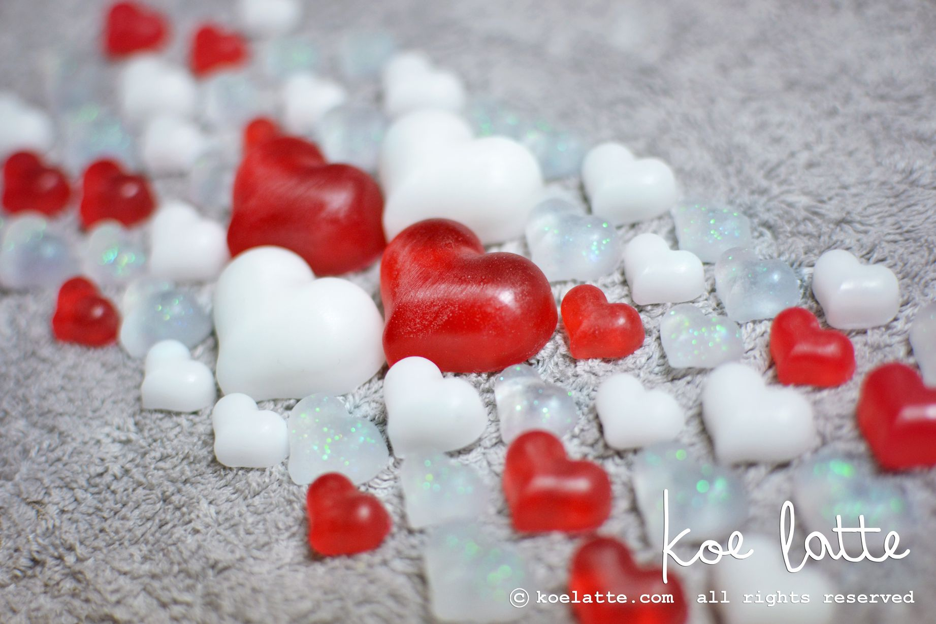 Sweet Heart Candy Soap