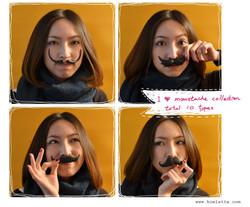 moustache scent brick