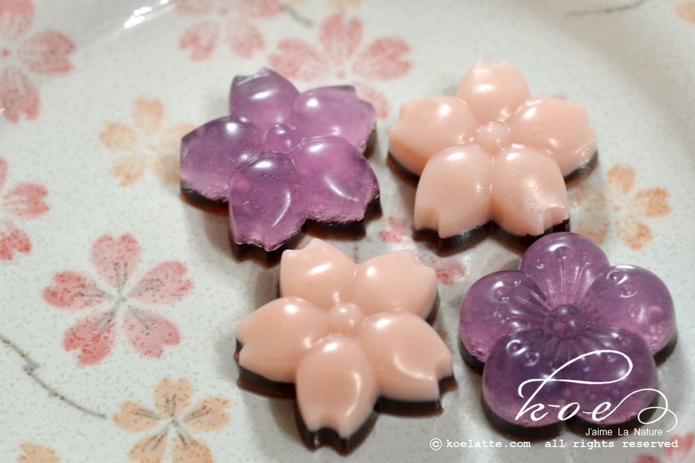 Crystal Wagashi Soap (CA#028)