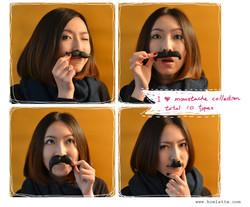 moustache scent bricks