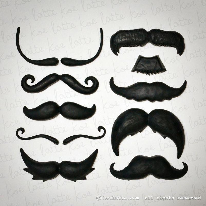 Moustache Scent Bricks (10 Shapes)
