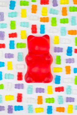 Big Gummy Bear Soap (6 colours)