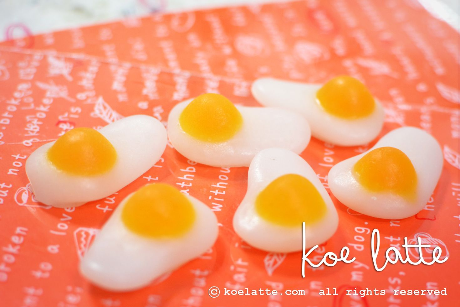 Egg Candy Soap (MP#004)