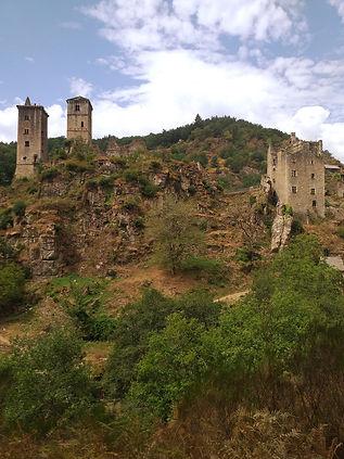 Randonnée les Tours de Merle La Ferme des Histoires Mélangées Corrèze