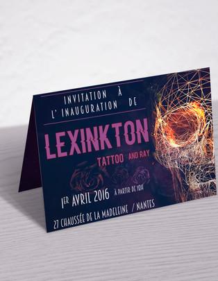 Lexinkton Tattoo & Ray