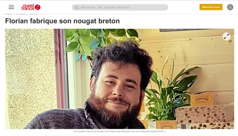 Le Bonheur des Ogres, Article Ouest France 2018