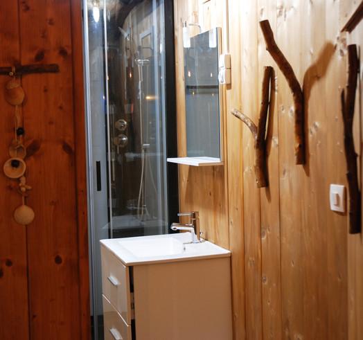 Détail Salle de bain La Ferme des Histoires Mélangées