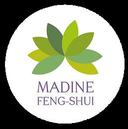 Logo Madine Feng-Shui réalisée par Nowhere - Marie Roy Pressac