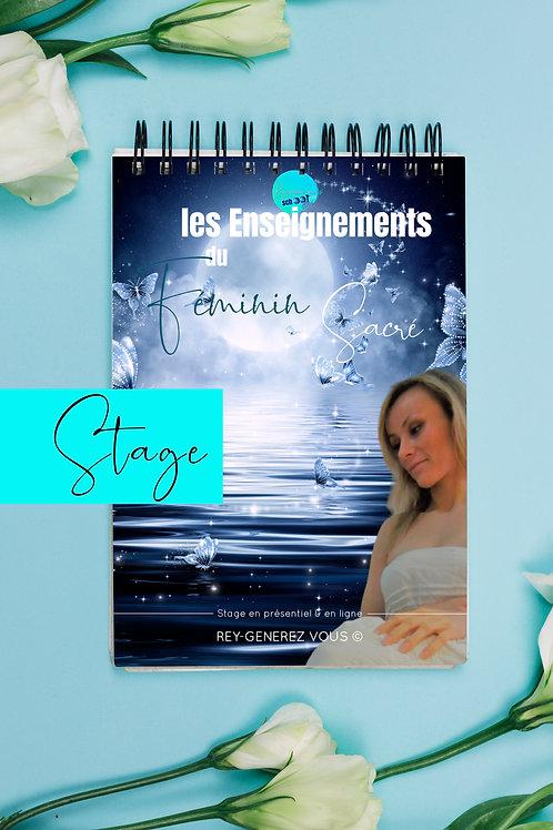 2/2 Stage en ligne Les Enseignements du Féminin Sacré