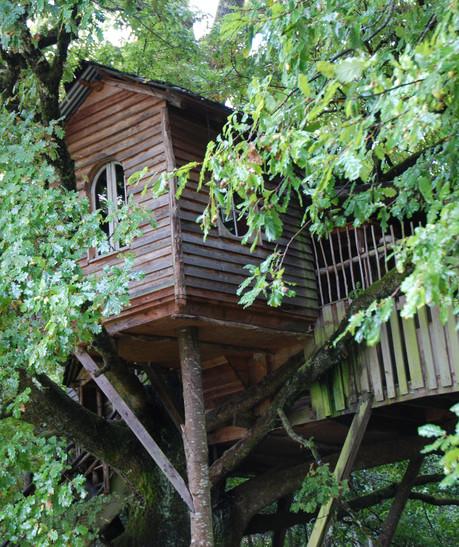 Cabane de la Peyrade vue extérieur 3
